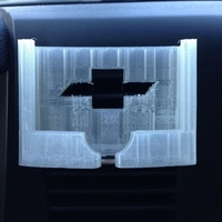 Small car vent iphone5 for silverado mount 3D Printing 68593