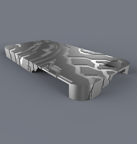 Halo/Tron Themed Case (iPhone 5) 3D Print 686