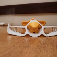 Small OpenRC F1 Front Wing&Nose 3D Printing 68671