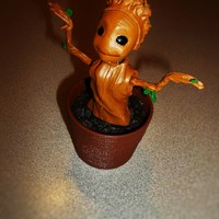 Small SOLAR dancing GROOT 3D Printing 68797