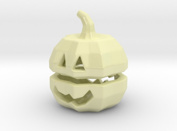 Tea light Pumpkin Lantern 3D Print 6928