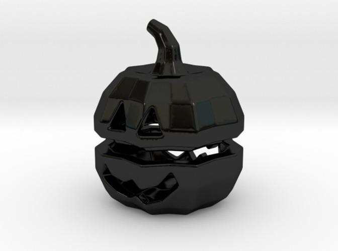 Tea light Pumpkin Lantern 3D Print 6930