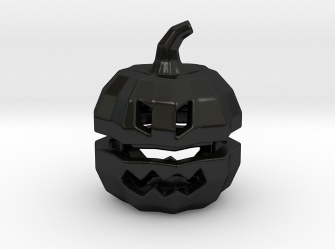 Tea light Pumpkin Lantern 3D Print 6931