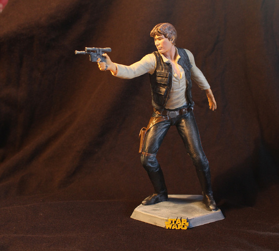 Han Solo 3D Printing 69316