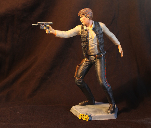 Han Solo 3D Printing 69317