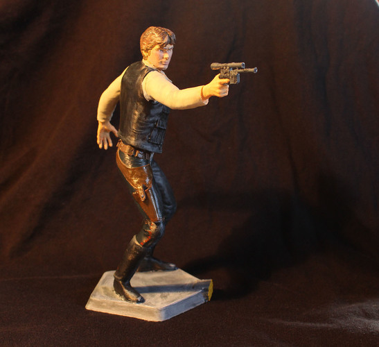 Han Solo 3D Printing 69318