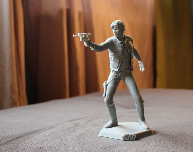 Han Solo 3D Printing 69319