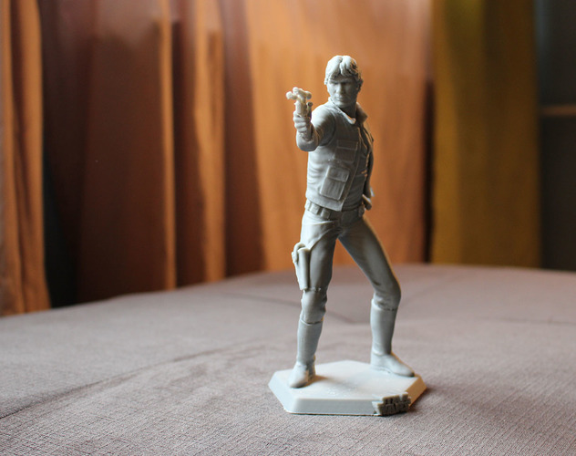 Han Solo 3D Printing 69320