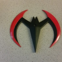 Small Batarang (Batman Beyond) 3D Printing 69692