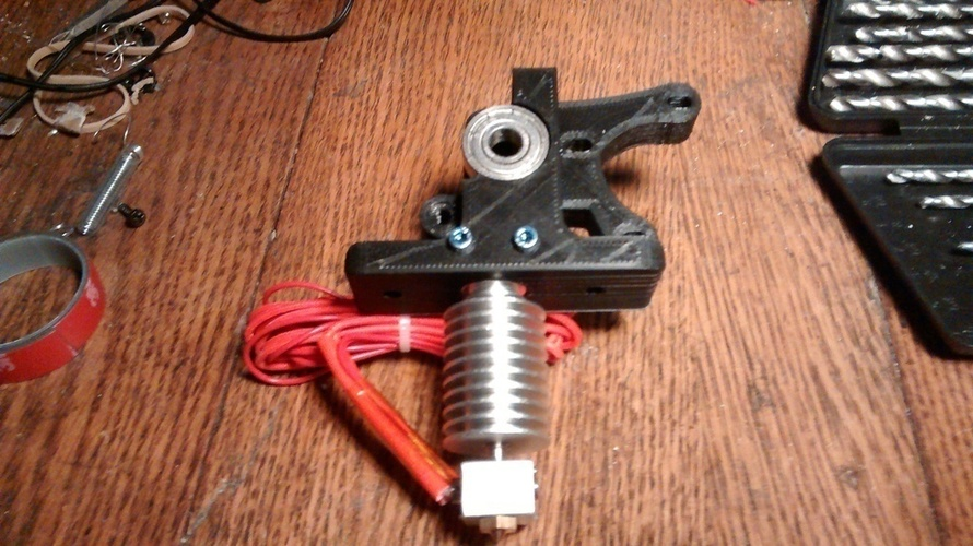 Geeetech all metal jhead hot end Direct fit Greg's Wade extruder 3D Print 69933