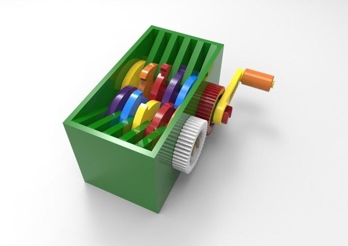 3D Printed easy shredder v5 by john jonmes | Pinshape