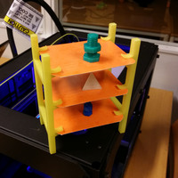 Small Shelfie 3D Printing 7000