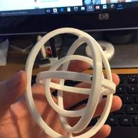 Small Gyroscope  3D Printing 70044