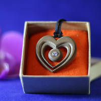 Small Heart pendant  3D Printing 70223