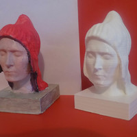 Small bust mariane 3D Printing 70228