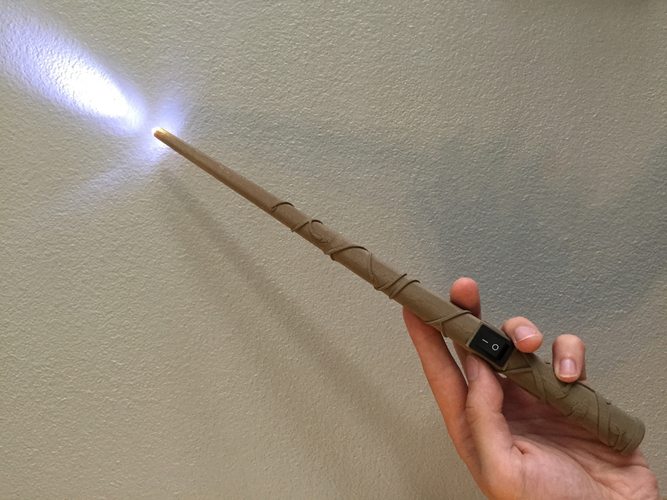 3d Printed Hermione Granger S Wand Harry Potter By