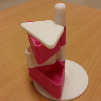 Small Stackable Boxtower 3D Printing 7058