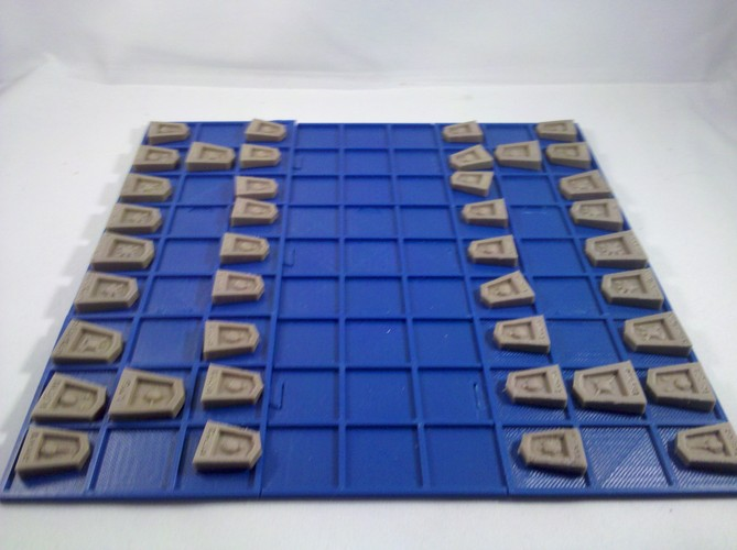 Shogi iconified 3D Print 706