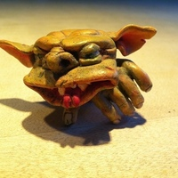 Small Gremlin 3D Scan with 123D Catch 3D Printing 70730