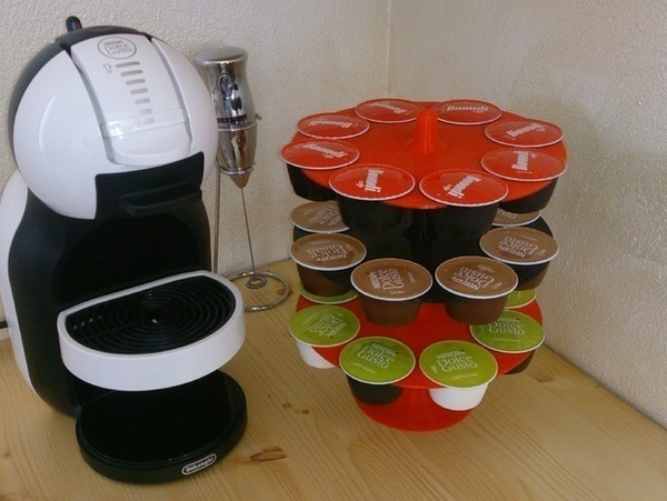 Medium Porta cialde a piani dolce gusto nescafe krups capsule coffee 3D Printing 70791