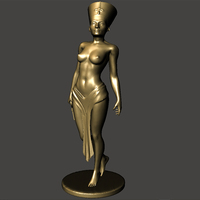 Small Nefertiti-with-body 3D Printing 70845