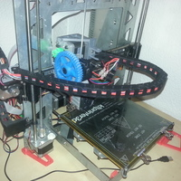 Small Cable chain in horizontal 3D Printing 70859