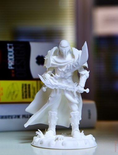 heavenly warrior steel 3D Print 70912