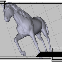 Small Horse  3D Printing 70946