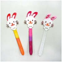 Small Bunny Cable Holder / Bookmarks - Nylon Filament 3D Printing 70967