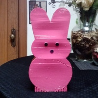 Small Peep Coin Bank 3D Printing 71272