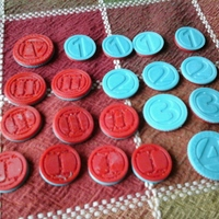 Small Coin Tokens 3D Printing 713