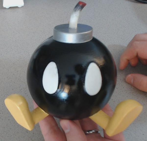 Medium Easy to Print Bob-omb! 3D Printing 71303