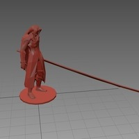 Small Sephiroth - Final Fantasy VII 3D Printing 71525
