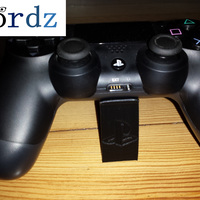 Small PS4 controller stand V1 3D Printing 71561