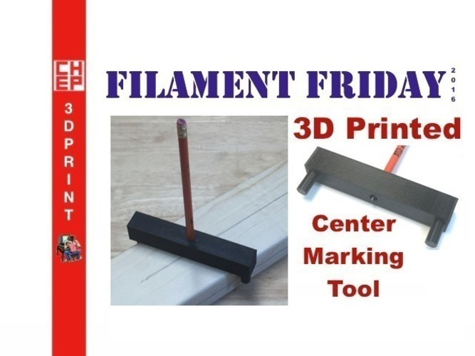 Center Marking Tool 3D Print 71642