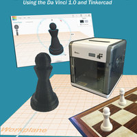 Small Chess Pawn from book Beginner's Guide to 3D Printing 3D Printing 71672