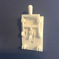 Small Reprint of Frankenstein Light Switch Plate from LoboCNC 3D Printing 71678