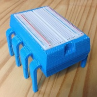 Small 8-Pin IC/Microcontroller - Breadboard Holder and Parts Box for E 3D Printing 71706