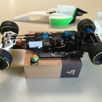 Small RS-01 Version C OpenRC F1 Adjustable Suspension Chassis 3D Printing 71715