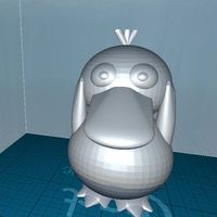 Small Smooth Psyduck 3D Printing 71795