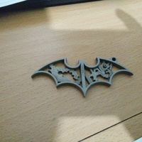 Small Batman Keychain 3D Printing 71796