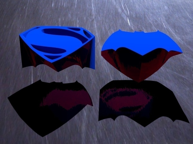Batman vs. Superman - choose your side 3D Print 71834