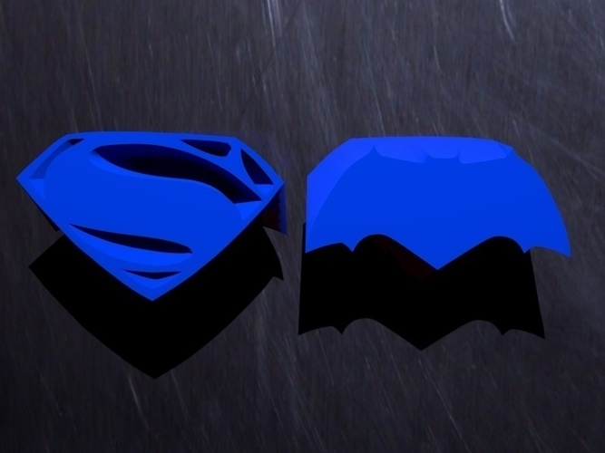 Batman vs. Superman - choose your side 3D Print 71835