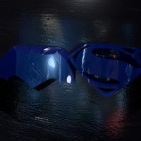 Small Batman vs. Superman - choose your side 3D Printing 71836