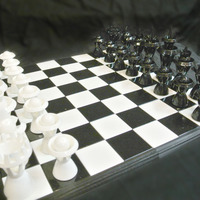 Small 16x16 inch Chessboard 3D Printing 71872