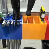 Small tool box for aluminum rail profiles 3D Printing 71884
