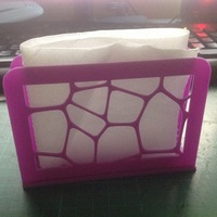 Small Table Napkin / Tissue Holder 3D Printing 71934