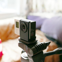 Small Simple tripod mount for bare GoPro Hero 3,3+ ,3+ black. Without  3D Printing 72051
