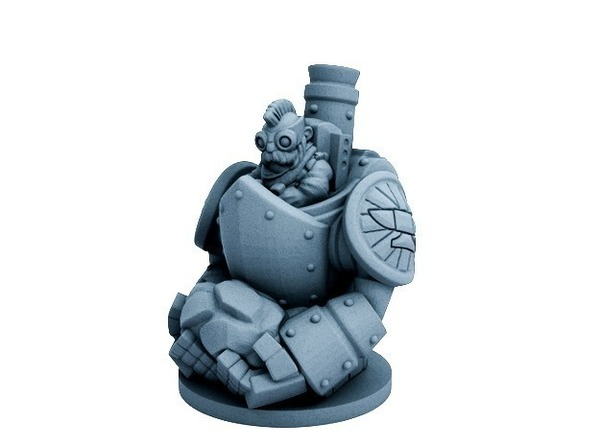 Medium Dwarfclan Stonethrower (18mm scale) 3D Printing 72184