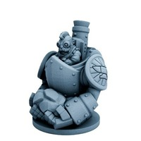 Small Dwarfclan Stonethrower (18mm scale) 3D Printing 72184